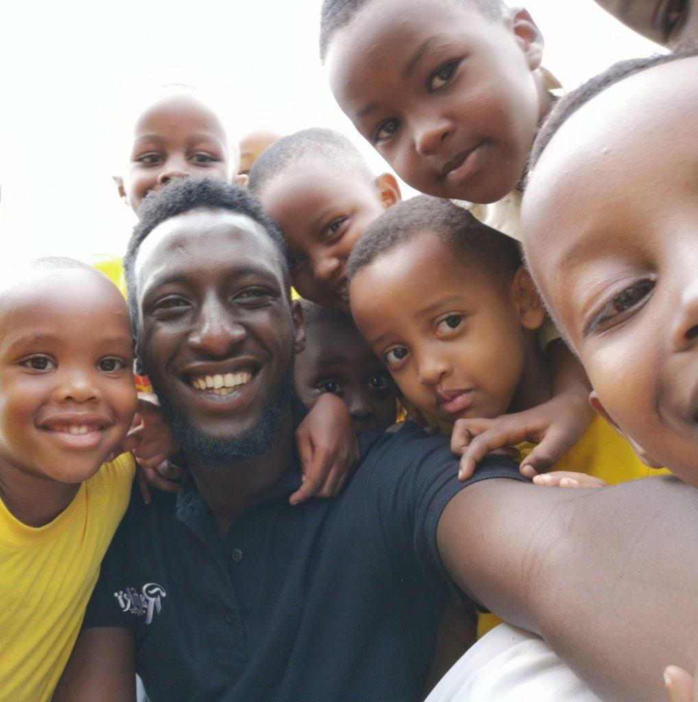 school kids in Rwanda